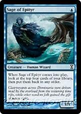 SAGE OF EPITYR Time Spiral MTG Blue Creature — Human Wizard Com