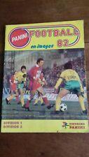 Album foot Panini 1982 Division 1 Division 2 COMPLET avec 488 vignettes