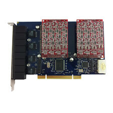 TDM800P 8 FXO Asterisk card PCI card for elastix trixbox freepbx voip pbx