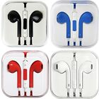 New Earbuds headphones Works for Apple iPhone W/ Remote & Mic For 6S 6 5 4 5SE