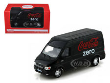 FORD TRANSIT COCA COLA ZERO 1/43 DIECAST MODEL CAR BY MCC 434735