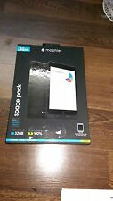 Paquete de caso y almacenamiento de información espacio Mophie - 32GB-iPad Mini-Negro - 1st clase Deliv