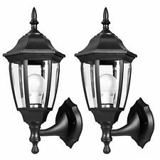2 PACK EXTERIOR WALL LED LIGHTS OUTDOOR GARAGE SCONCE LANTERN FIXTURE PORCH DOOR