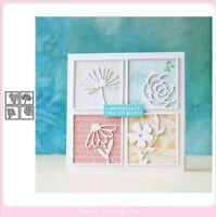 Stanzschablone Blume Blatt Weihnachten Hochzeit Oster Geburstag Karte Album Deko