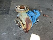 GOULDS 3196 MT 3 X 4 - 10 STAINLESS PUMP, #916147J USED
