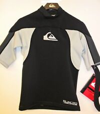 Quiksilver Men's .5mm Syncro S/S Neoprene Top - Bgy - Small - Nwt