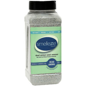 SMELLEZE Dead Animal Deodorizer Powder - 2 lb: Rid Dead Rat & Mice Smell