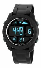 Armitron Men's Black Resin Digital Watch, 100 Meter WR, Chronograph, 40/8253BLK