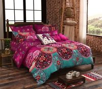 Mandala Duvet/Doona/Quilt Cover Set Queen/King/Super King Size Bed New Bohemian