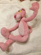 2007 Pink Panther Posable Bendable Soft Stuffed Plush Doll Figure Toy 18""