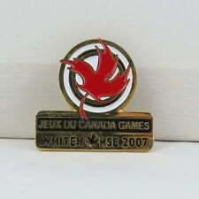 Juex Canada Winter Games Pin - 2007 Whitehorse Yukon - Government of Canada Leaf