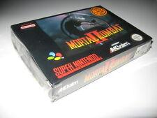 Mortal Kombat II Super NIntendo PAL BRAND NEW SEALED 2 excellent