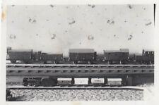 org. photo 6x9 cm modèle train en blocksdorf ? (g4086)
