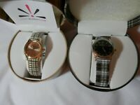 Isaac Mizrahi Live Japan Movement Wrist Watches (for parts or not working)