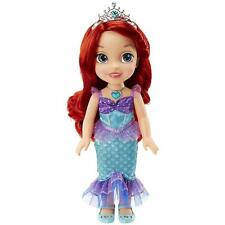 Disney Princess Ariel Doll The Little Mermaid Sing Shimmer Jewel Necklace Dress