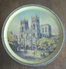 vintage boite métal ronde ancienne - oude ronde metalen doos  Cravens of York