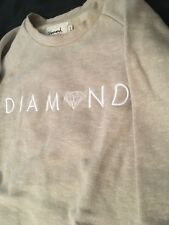 Diamond Supply Co Tan Crew Neck Sweatshirt Limited Time Color