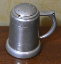 New listing Preisner Pewter Salt or Pepper Shaker Williamsburg Style 2172