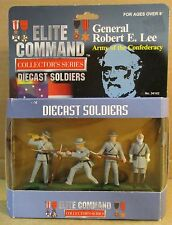 General Robert E. Lee Army Of The Confederacy Military DieCast Soldier Figurine