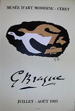 Georges Braque Affiche Lithographie Mourlot Ceret Cubisme  P 279