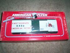 American Flyer #48323 1995 Christmas Box Car