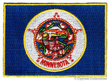 MINNESOTA STATE FLAG embroidered iron-on PATCH EMBLEM