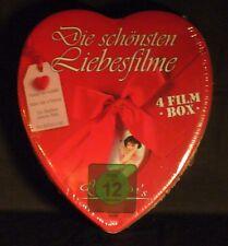 DOPPEL-DVD NEU/OVP - Die schönsten Liebesfilme - 4 Filme - Herzbox
