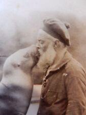 More details for notting hill man & sea lion plan elopement ? rare original carte visite 1880s er