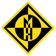 "Machine Head band sticker decal 4"" x 4"""