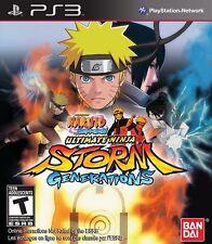 Naruto Shippuden Ultimate Ninja Storm Generations Sony Playstation 3 PS3 NEW