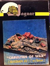 Jaguar 1/35 Casualties of War Russian #2 w/Base (Resin Figure) - 63026