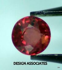 PADPARADSCHA SAPPHIRE 3.25 MM ROUND CUT ALL NATURAL AAA