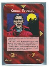 "Illuminati New World Order ""Count Dracula"" Card Game Nice OP1."