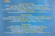 The Great American Songbook Original American Classics 3 CD Set