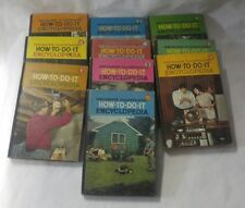Mechanix Illustrated How To Do It Encyclopedia 1961 10 Volumes Hardcover GC