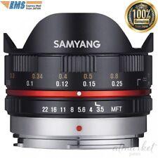Samyang 7.5mm f/3.5 UMC Fisheye Lens M4/3 Mount Black