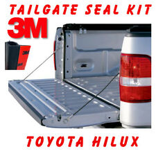 TAILGATE SEAL KIT FOR TOYOTA HILUX SR SR5 UTE RUBBER DUST TAIL GATE