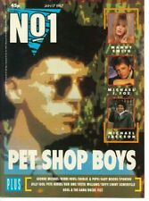 No 1 Magazine January 17 1987 Pet Shop Boys Michael J Fox Jackson Run Dmc Mandy