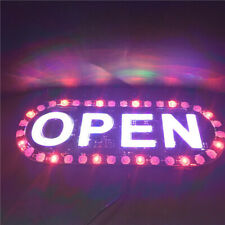 Bright Led Neon Light Open Business Sign Board Signboards For Shop Banner Us #8