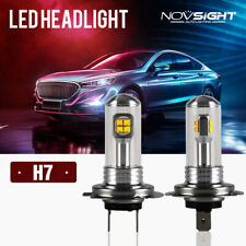 NIGHTEYE 2x H7 160W LED Fog Light Bulbs Car Driving Lamp DRL 6000K White Light