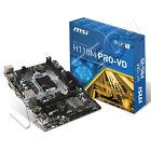 SCHEDA MADRE MSI H110M PRO-VD INTEL LGA 1151 2 x DDR4 2400MHz DVI VGA USB 3.0