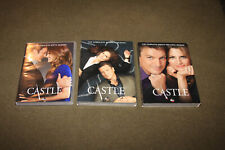 Lot of 3 Castle DVD Complete Season 6,7,8 (Seventh & Eighth are STILL SEALED)