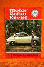 Motor + Fahrer Reise Revue 2/63 Opel Kadett DKW Junior