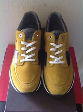LOUIS VUITTON MENS €1100 MILES MUSTARD SNEAKER SZ. 8 NEW IN BOX LIMITED EDITION