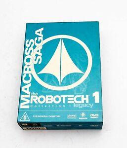Robotech - Macross Saga - DVD Box 01 (DVD, 2002, 3-Disc Set)