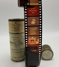 1950s Christmas 35mm Film Strip Twas the Night Before Christmas Rare Collectible