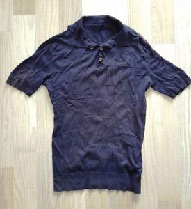 VERSACE VERSUS Luxury Vintage Polo Shirt MADE IN ITALY Größe M Slim Fit UVP 350€