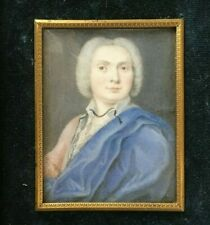 First half of the 18th century Portrait Miniature of a Distinguished Man