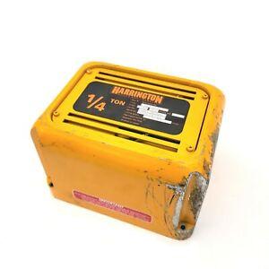 Harrington KITO ER1BB2104 Controller Cover From NER003SD Two Speed Chain Hoist