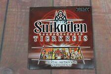 Suikoden Tierkreis Digital Artbook & Soundtrack Konami 2009 Brand new Sealed